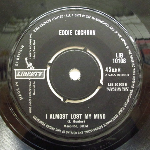 EDDIE COCHRAN - Drive In Show (UK Orig)