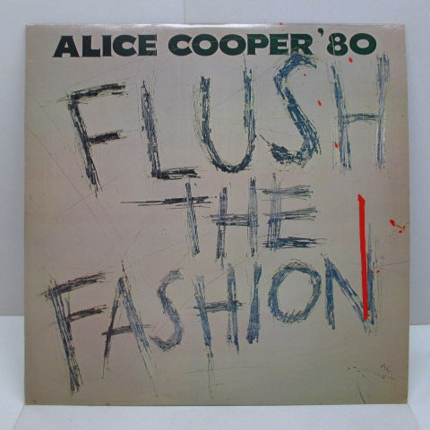ALICE COOPER - Flush The Fashion (UK Orig.)