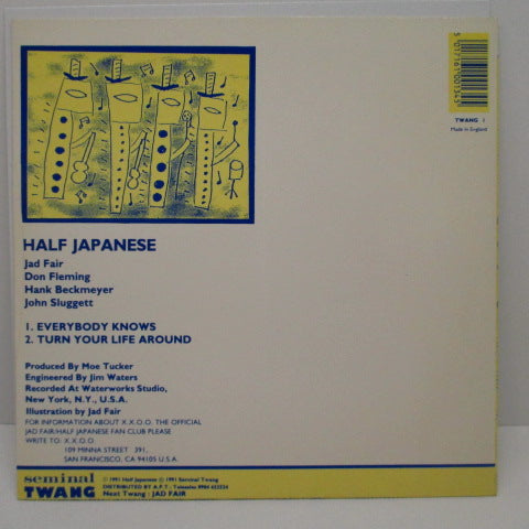 "HALF JAPANESE - Everybody Knows (UK Orig.7"")"