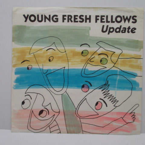 "YOUNG FRESH FELLOWS - Update (US Orig.7""/Hand Colored PS)"