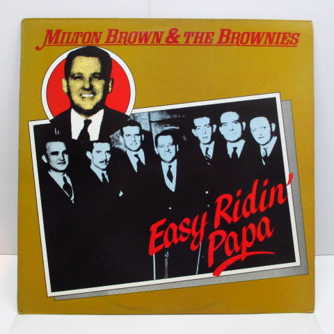 MILTON BROWN & THE BROWNIES - Easy Ridin' Papa (UK Orig.Mono LP)