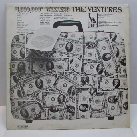 VENTURES - Million Dollar Weekend (UK Orig.Stereo LP/CS)