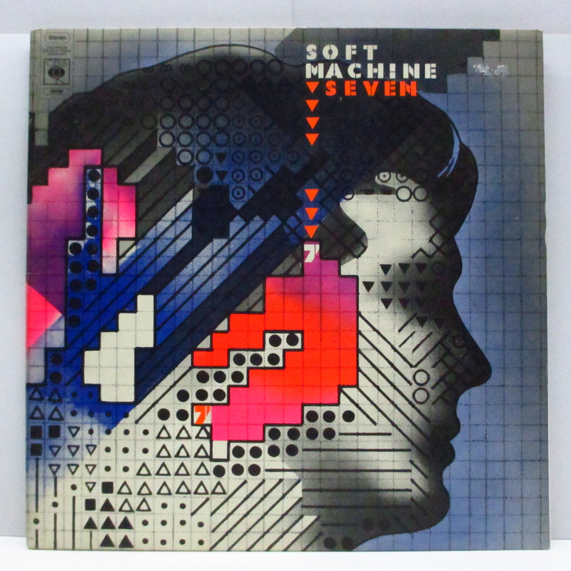SOFT MACHINE - Seven (UK Orig.Deep Orange Lbl.LP/GS)