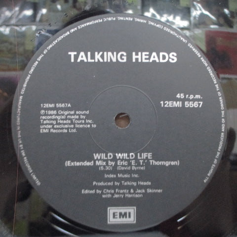 "TALKING HEADS - Wild Wild Life (Extended Mix)  2 (UK Orig.12""-EP)"