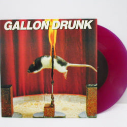 "GALLON DRUNK - The Last Gasp (OZ Ltd.Purple Vinyl 7"")"