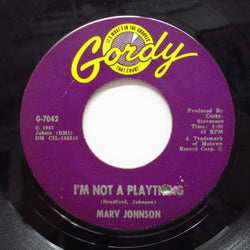 MARV JOHNSON - I'm Not A Plaything