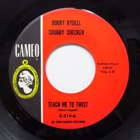 CHUBBY CHECKER & BOBBY RYDELL - Teach Me To Twist (Orig)