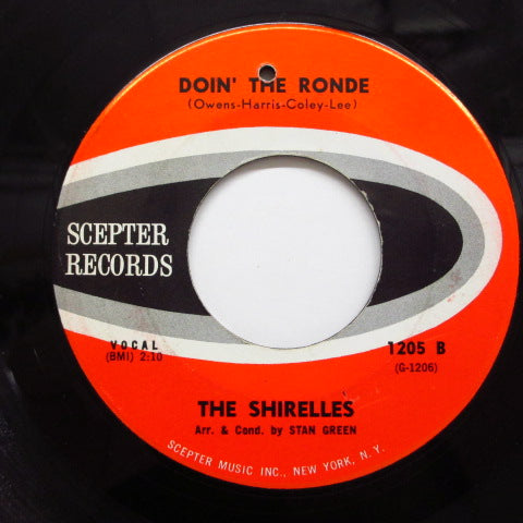 SHIRELLES - Doin' The Ronde (60's Reissue)