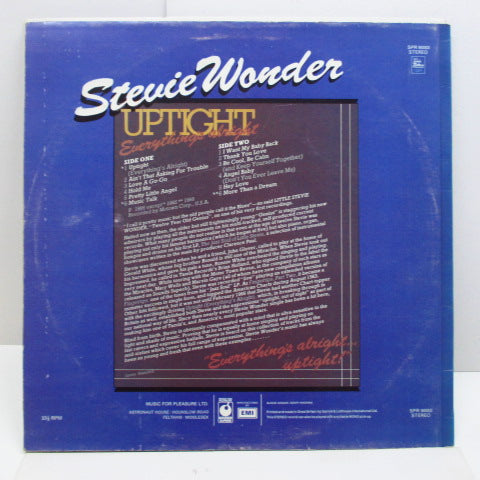 STEVIE WONDER - Uptight (Everything's Alright) (UK Orig.STEREO CS)