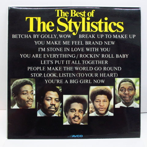 STYLISTICS - The Best Of The Stylistics (UK Orig.LP/両面CS)