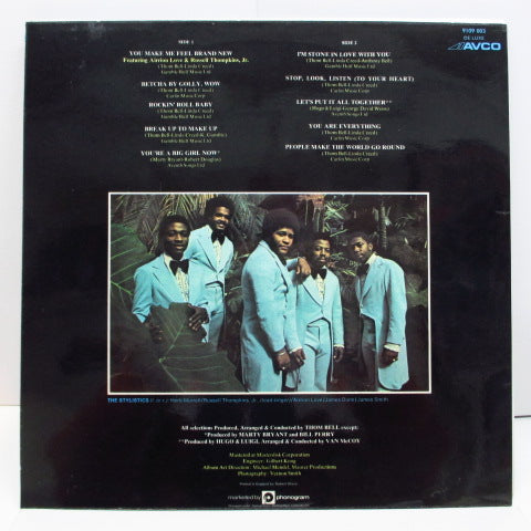 STYLISTICS-The Best Of The Stylistics (UK Orig.LP / Double-sided CS)
