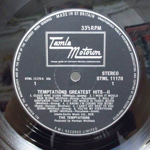 TEMPTATIONS - Greatest Hits II (UK Orig.STEREO/CFS)