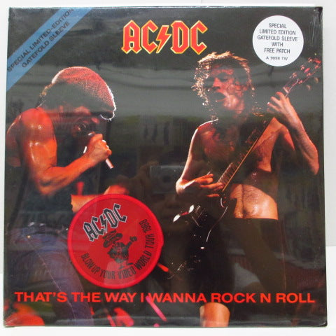 "AC/DC - That's The Way I Wanna Rock N Roll (UK 12""+Patch)"