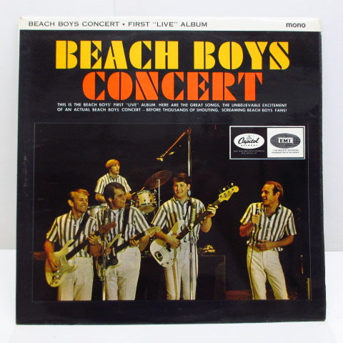 BEACH BOYS - Concert (UK Orig.MONO)