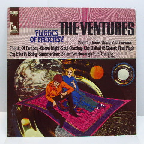 VENTURES - Flights Of Fantasy (US Orig.Stereo LP)