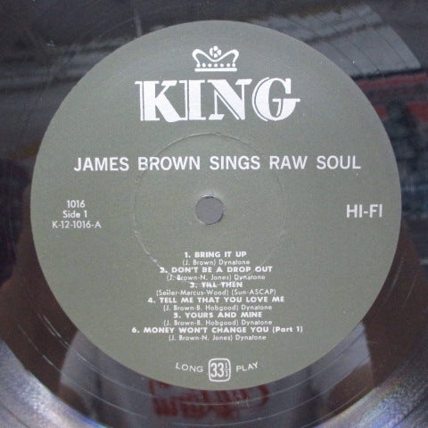 JAMES BROWN - Raw Soul (US Orig,Mono LP)