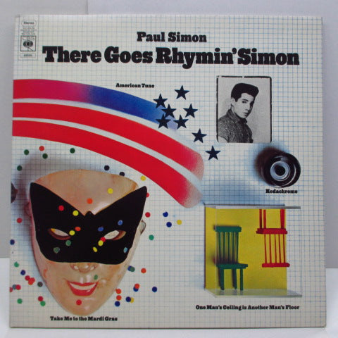 PAUL SIMON - There Goes Rhymin' Simon (UK Orig.KC # Lbl.LP/GS)