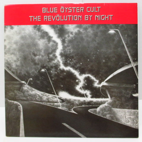 BLUE OYSTER CULT - The Revölution By Night (UK Orig.LP)