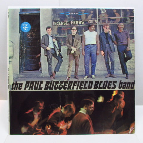 PAUL BUTTERFIELD BLUES BAND - The Paul Butterfield Blues Band (1st) (UK '65 2nd Press Red Lbl.Stereo LP/CS)