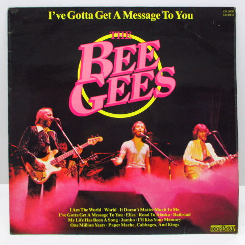 BEE GEES - I've Gotta Get A Message To You (UK Reissue LP/CS)