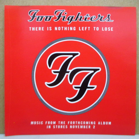FOO FIGHTERS - There Is Nothing Left To Lose (US Promo.CD)