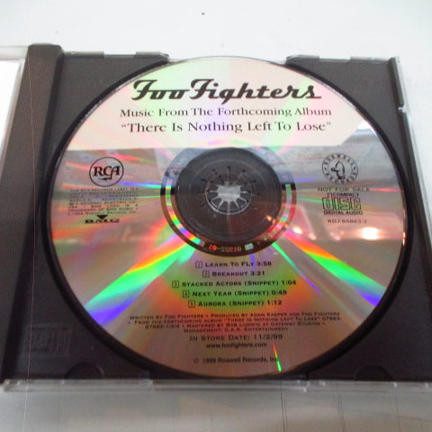 FOO FIGHTERS-There Is Nothing Left To Lose (US Promo.CD)