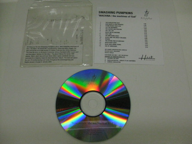 SMASHING PUMPKINS - Machina / The Machines Of God (US Promo.CD-R)