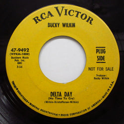 BUCKY WILKIN - Delta Day (No Time To Cry) (PROMO)