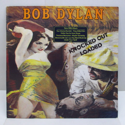 BOB DYLAN - Knocked Out Loaded (UK-DUTCH=Export)