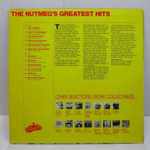NUTMEGS - Greatest Hits (Pink Label)