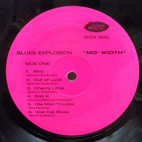 JON SPENCER BLUES EXPLOSION, THE-Mo 'Width (OZ Orig.LP)