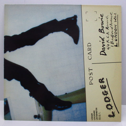 DAVID BOWIE - Lodger (UK 80's Re Green Lbl.LP/INTS 5212/Single CVR)