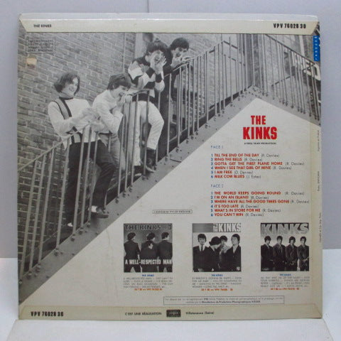 KINKS - Till The End Of The Day (France Orig.Mono LP)