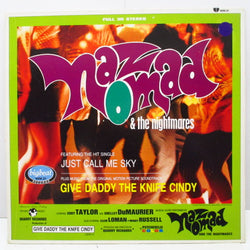 NAZ NOMAD & THE NIGHTMARES - Give Daddy The Knife Cindy (UK Ltd.Purple Vinyl LP)