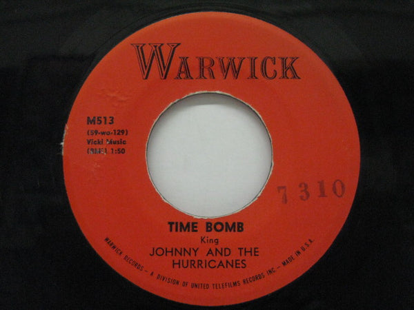 JOHNNY & THE HURRICANES - Time Bomb (Orig)