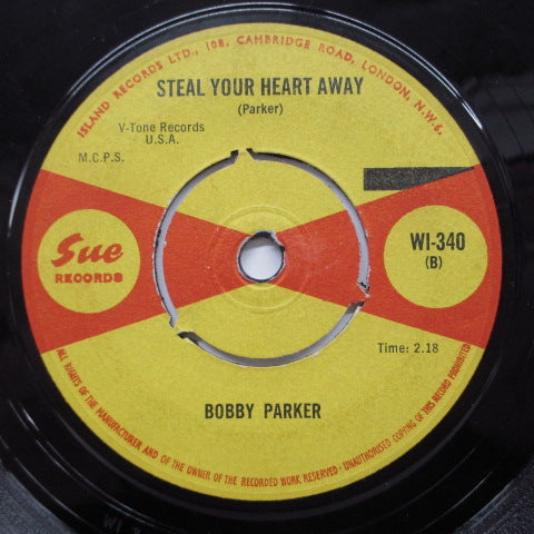 BOBBY PARKER - Watch Your Step  (UK SUE)