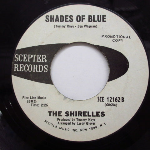 SHIRELLES - Shades Of Blue (Promo)