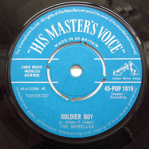 SHIRELLES - Soldier Boy ('62 UK Orig)