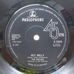 HOLLIES - Hey Willy (UK Orig.)