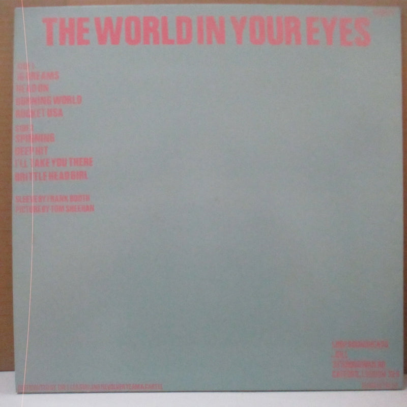 LOOP - The World In Your Eyes (UK Orig.LP+Stickered Blue CVR)
