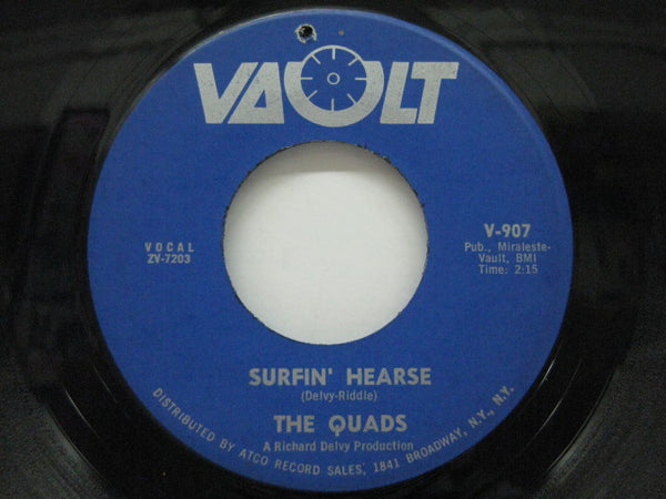 QUADS - Surfin' Hearse / Little Queenie