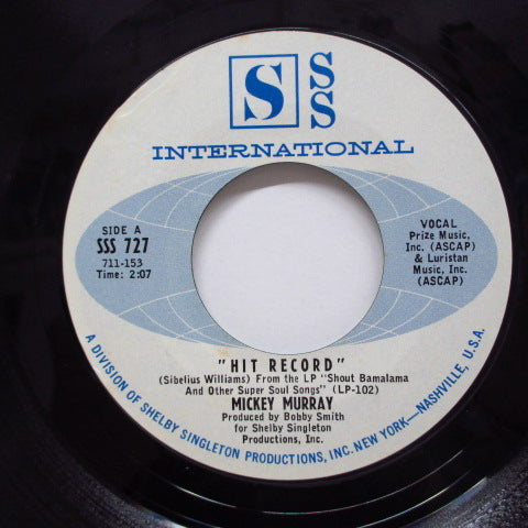 MICKEY MURRAY - Hit Record (SSS Int'l-727)