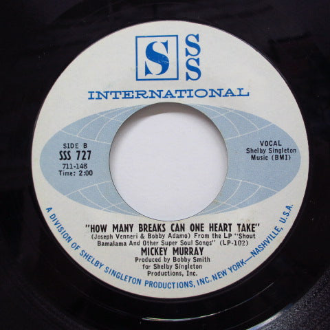 MICKEY MURRAY-Hit Record (SSS Int'l-727)