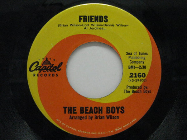 "BEACH BOYS - Friends / Little Bird (US Orig.7"")"