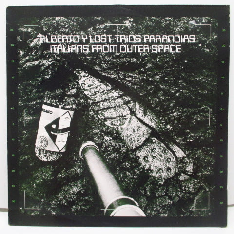 ALBERTO Y LOST TRIOS PARANOIAS - Italians From Outer Space (UK Orig.LP)