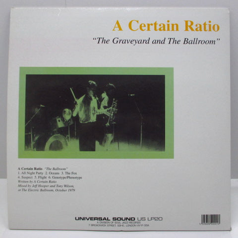 "A CERTAIN RATIO - The Graveyard And The Ballroom (UK Reissue.LP+12"")"