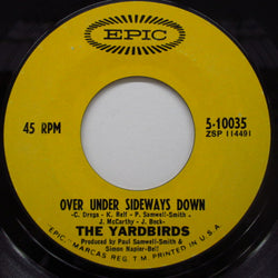 "YARDBIRDS - Over Under Sideways Down (US Orig.7"")"