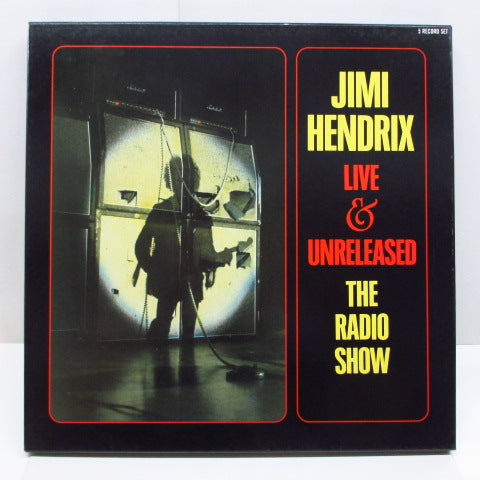 JIMI HENDRIX - Live & Unreleased The Radio Show (UK 5xLP BOX Set)