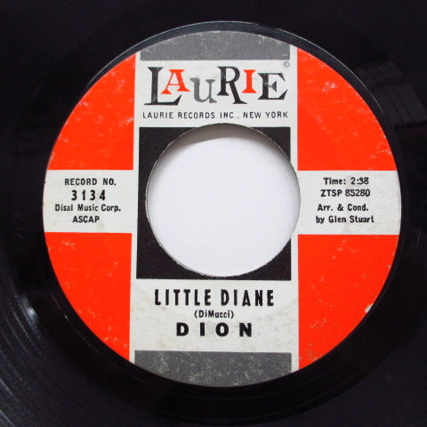 DION - Little Diane / Lost For Sure (Orig.)