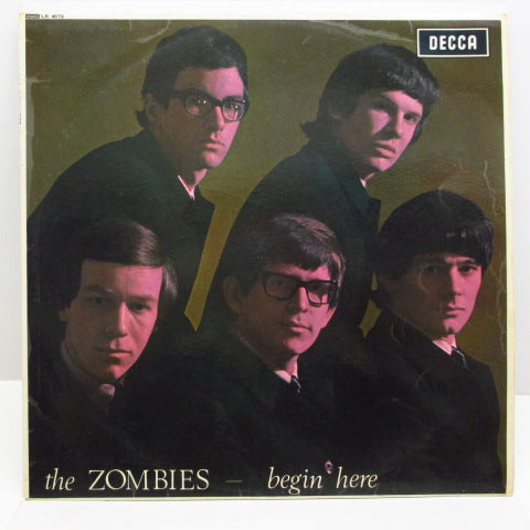 ZOMBIES - Begin Here (1st) (UK:Orig.MONO/CS)